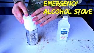 Download Emergency Alcohol Stove from Toilet Paper and Can Video