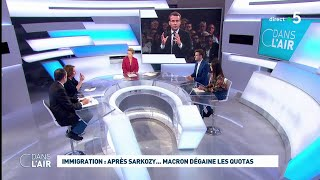 Download Immigration : après Sarkozy... Macron dégaine les quotas #cdanslair 05.11.2019 Video