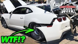 Download The Tires SHOOK His Bumper OFF! Video