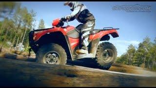 Download 2012 Honda FourTrax Foreman 4x4 ATV Review Video