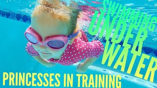 Download Mom sees Olivia Swim Underwater for First time and Quints Go To Princesses in Training Video