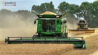 Download Žně 2018 - ozimé ječmeny, pšenice | Big harvest 2018 - New Holland, John Deere, Case IH, Claas Video