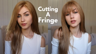 Download Cutting My Own Fringe | How to cut Bangs | Stella Video