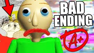 Download THE CREATOR'S HIDDEN MESSAGE! (New Ending) || Baldis Basics in Education and Learning BAD ENDING Video
