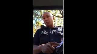 Download Woman leaves Cop speechless as he tickets her for Hands-fee infraction Video