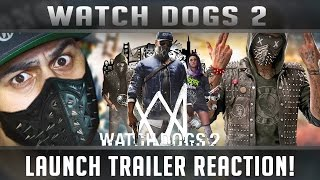 Download Watch Dogs 2 Launch Trailer PS4 Live Reaction! Video