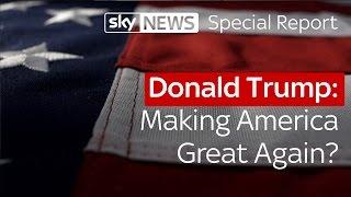 Download Donald Trump: Making America great again? | Special report Video