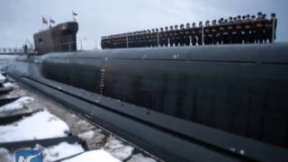 Download Russian nuclear sub moving to Pacific Video