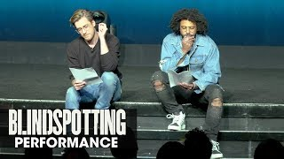 Download Blindspotting powerful spoken-word performance - Daveed Diggs, Rafael Casal - CinemaCon 2018 Video
