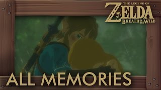 Download Zelda Breath of the Wild - All Memories (Zelda & Link Cutscenes) Full Past Story Video