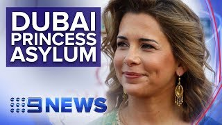 Download Dubai leader's wife reportedly flees to Germany with their children and $56m | Nine News Australia Video