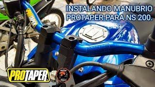Download #passion2wheels | NS 200 Instalación manubrio Pro-Taper Colombia. Video