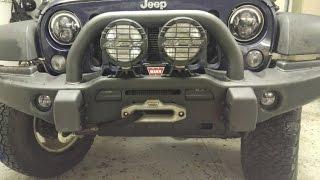 Download MOPAR | JW Speaker - LED Fog light install - AEV JK Bumper Video