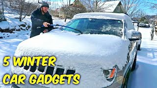 Download 5 Winter Car Gadgets put to the Test! Video