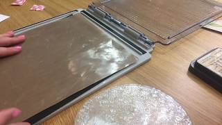 Download How to use the stampers foam in your Tim Holtz platform for perfect results every time Video