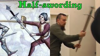 Download Half-swording - Why grabbing a sharp blade in a sword fight is not crazy Video