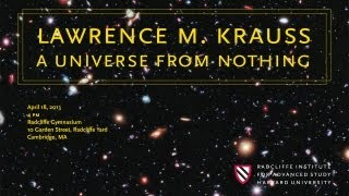 Download Lawrence M. Krauss || A Universe from Nothing || Radcliffe Institute Video