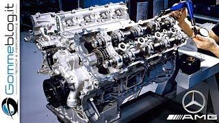 Download Mercedes AMG V8 ENGINE - PRODUCTION (German Car Factory) Video