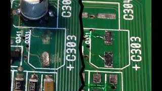 Download PCB solder pad repair & corrosion clean up - The epoxy method Video