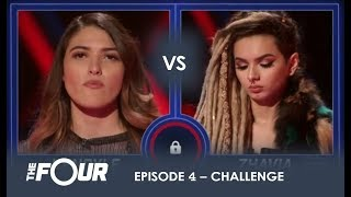 Download Kendyle vs Zhavia: The BOMBSHELL Result That Has Meghan Trainor Sobbing on LIVE TV | S1E4 | The Four Video