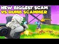Download NEW Biggest Scam vs Dumbest Scammer! 😱 (Scammer Gets Scammed) Fortnite Save The World Video