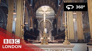 Download 360 Video: Inside St Paul's Cathedral - BBC London Video
