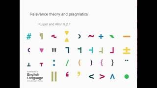 Download Chapter 9.2.1: Relevance theory and pragmatics - Kuiper and Allan Video