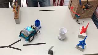 Download Duo de robot : catch the tube and place it in the box. Video