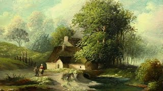 Download Simple Tutorial Oil painting Landscape By Yasser Fayad ياسر فياض Video