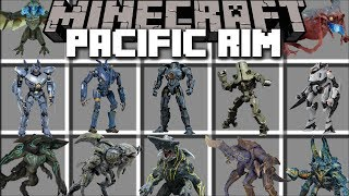 Download Minecraft PACIFIC RIM MOD / UPRISING OF THE KAIJU SURVIVE THE BATTLE!! Minecraft Video