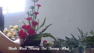 Download Nghệ Thuật Cắm Hoa - Bình Hoa Trang Trí Trong Nhà Video