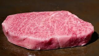 Download $250 KOBE BEEF STEAK Teppanyaki & Sushi In Japan Video