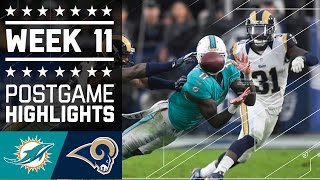 Download Dolphins vs. Rams (Week 11) | Game Highlights | NFL Video