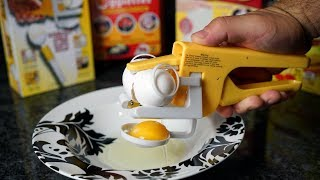 Download As Seen On TV EGG Gizmos TESTED! Video