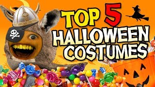 Download Annoying Orange - Top 5 Halloween Costumes! #Shocktober Video