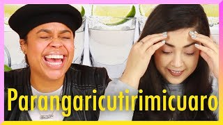 Download Latinas Try Spanish Tongue Twisters While Drinking Tequila Video