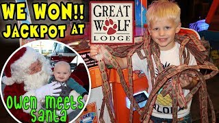Download Christmas at the Great Wolf Lodge! Video