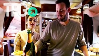 Download Opulence at 35,000 Feet in Emirates First Class for 90k Miles and $58   TPGtv Episode 10 Video