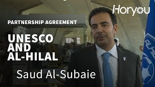 Download Saud Al-Subaie @ UNESCO & Al-Hilal Saudi Football Club Partnership Signing Ceremony Video