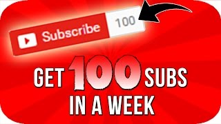 Download How To Get Your First 100 Subscribers In Just 1 Week! Video