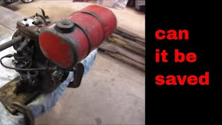 Download Will It Run? $5 antique Briggs engine.part 3. tear down and cold start. Video