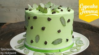 Download Epic Mint Choc Chip Layer Cake Recipe | Cupcake Jemma Video