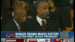 Download Obama Makes History as First Black President: Reactions from Chicago, NYC, DC, Kenya, Atlanta Video