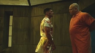 Download The Punisher & Wilson Fisk - Fight Scene (In the Prison) | Daredevil 2x09 | 2016 (HD) Video