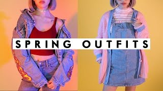 Download SPRING OUTFITS 2017 | 90s Lookbook | IAMKARENO Video