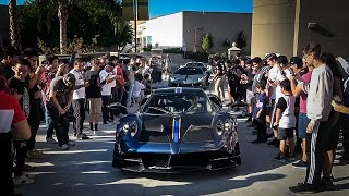 Download How to Crash a Car Show: Bring a $2.5 Million Pagani Huayra BC Video