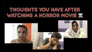 Download Thoughts you have after watching a HORROR MOVIE Video