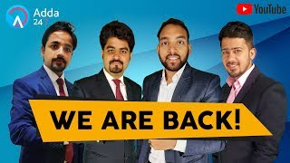 Download WE ARE BACK , Don't Miss!! Arun Sir, Puneet Sir & Vishal Sir | Govt. Job In Your Pocket! Video