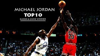 Download MICHAEL JORDAN TOP10 BUZZER & GAME WINNER Video
