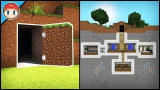 Download Minecraft: How to Build a Secret Base Tutorial (#2) - Easy Hidden House Video